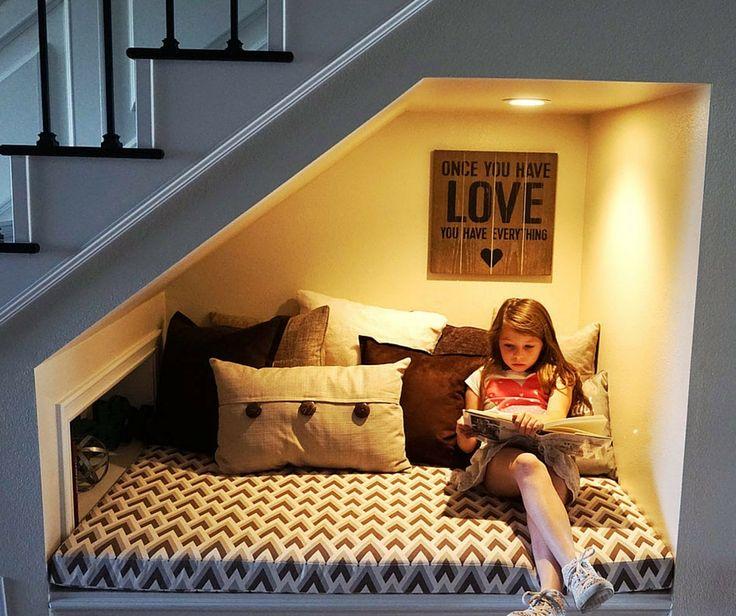 under-basement-stairs-reading-corner-kids